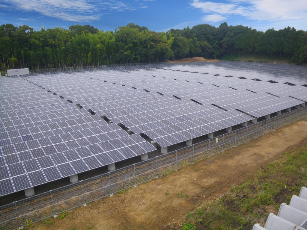 南部町太陽光発電所